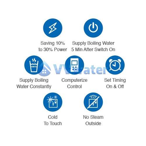 JO-K20-2 Stainless Steel Water Boiler