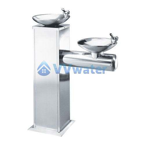 BD-3011 Taiwan Dual Bowls Stainless Steel Water Cooler