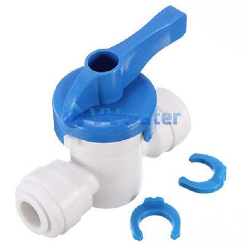 1/4'' Inline ball Valve Push Fit Filter for RO Water System