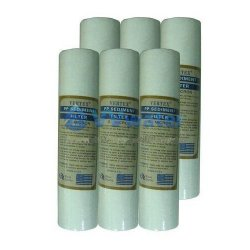 6 Pcs Vertex 5 Micron Sediment Water Filter Cartridge