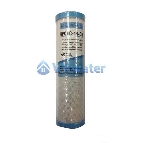 Kemflo Kfc 10 Cto Carbon Block Filter Cartridge