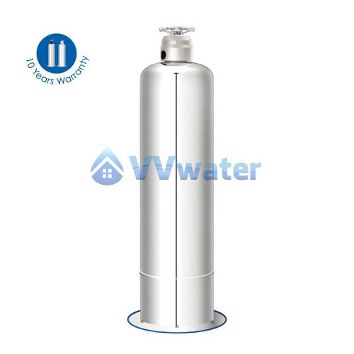 Ss mpv f56a stainless steel outdoor water filter 10 50 for Garden water filter system