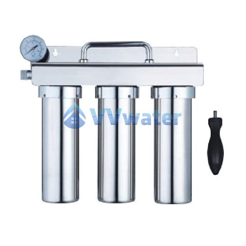 Q3 3-Stage 304 Stainless Steel Water Filter