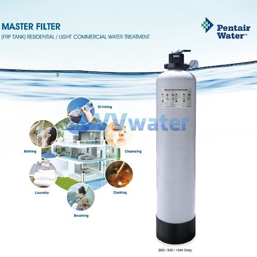 Pentair 942Grey Pentair FRP Master Filtration System 09