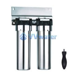 AS20-2 Stainless Steel Double Water Filter