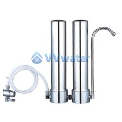 C1-2 Stainless Steel Double Water Filter + Supercarb