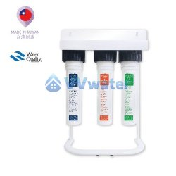 FPUS-S3L-125-PGM Taiwan 3-Stage Water Purifier System