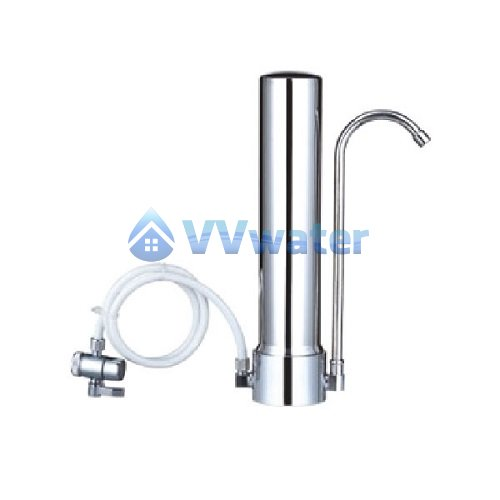 C1-1 Stainless Steel Single Water Filter + Ultracarb